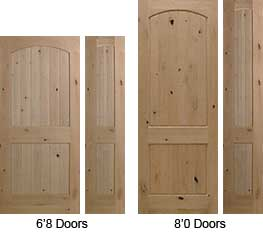 2 Panel V-Groove Arched Top interior doors are available in different sizes.  sc 1 st  Window \u0026 Door Works : king doors - pezcame.com