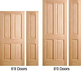Internal doors different sizes