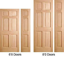 Lovely 6 Panel U0026 3 Panel Interior Doors Are Available In Different Sizes.